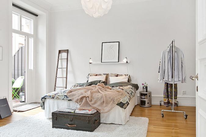 dormitorio-estilo-escandinavo